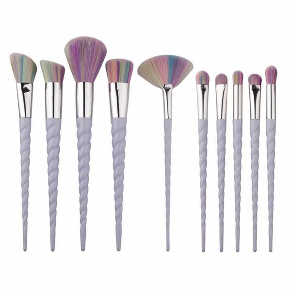 Unicorn Brush Set - 10 Piece