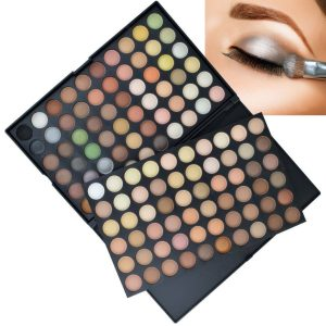 120 Colour Eye Shadow Palette Natural
