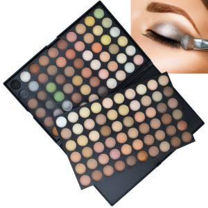 120 Colour Eye Shadow Palette Natural