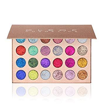 Cleof- Glitter eye shadow palette