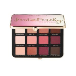 Too Faced Just Peachy eye shadow palette