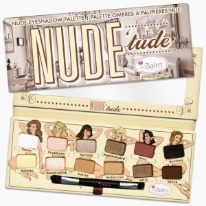The Balm Nude Tude Eyeshadow Shimmer Palette Eye Shadow Makeup Kit