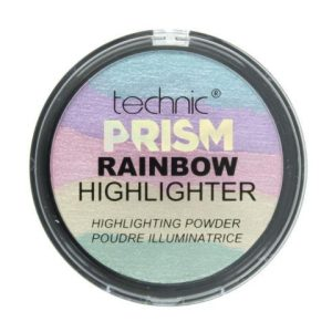 Technic Prism Unicorn Rainbow Highlighter Shimmer Baked Illuminating Powder