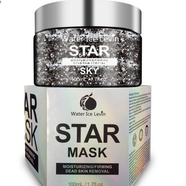 Star Mask Glitter Face Mask