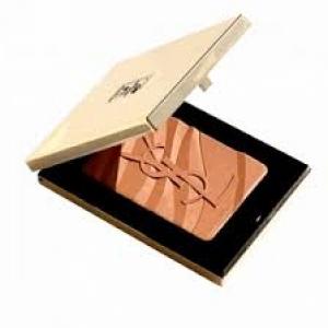 YVES SAINT LAURENT  Bronzing Stones Gold Tone Mirror Compact 8g