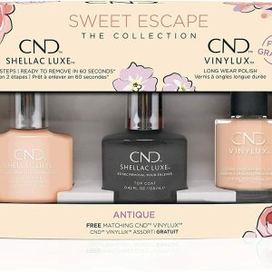 CND SHELLAC SWEET ESCAPE NAIL POLISH COLLECTION ANTIQUE