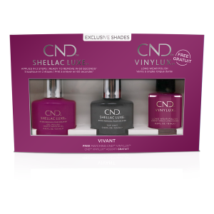 CND SHELLAC LUXE NAIL POLISH COLLECTION VIVANT