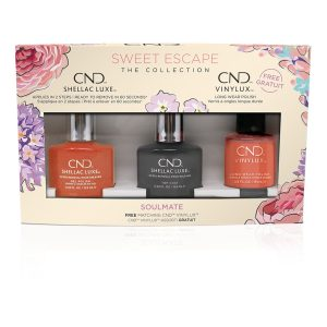 CND SHELLAC SWEET ESCAPE NAIL POLISH COLLECTION SOULMATE