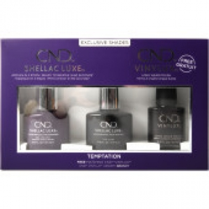 CND SHELLAC LUXE- 3PCS GEL POLISH SET TEMPTATION